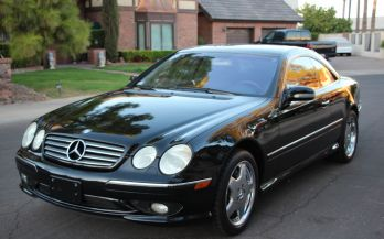 2002 MERCEDES CL55 AMG COUPE
