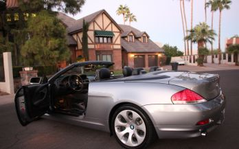 2004 BMW 645CI SPORT CONVERTIBLE