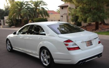 2008 MERCEDES S550 SPORT AMG