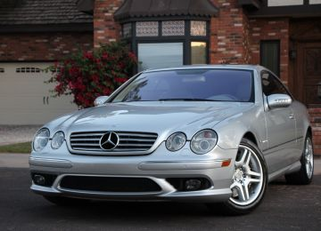 2005 MERCEDES CL55 AMG COUPE