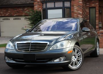 2007 MERCEDES S550 DESIGNO LAUNCH EDITION