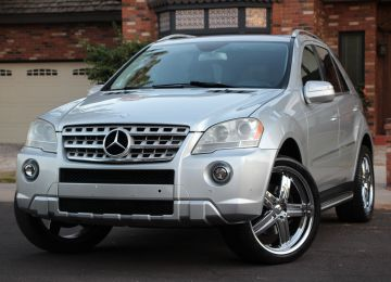 2009  MERCEDES ML550 4MATIC AMG SPORT