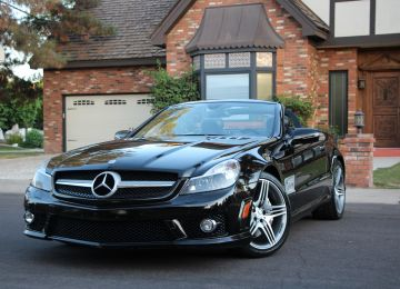 2011 MERCEDES SL63 AMG CONVERTIBLE