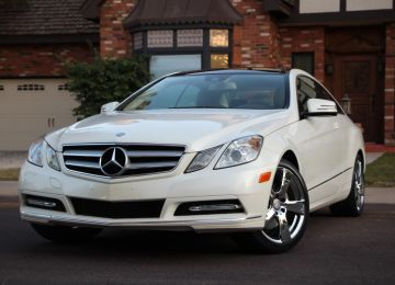 2013 MERCEDES E350 COUPE