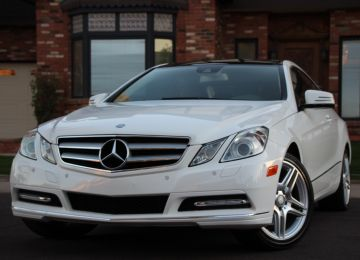 2013 MERCEDES E350C 4 MATIC SPORT AMG COUPE