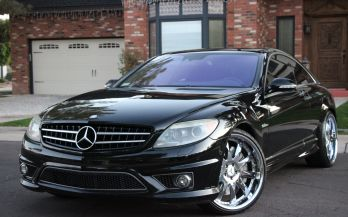 2008 MERCEDES CL63AMG COUPE