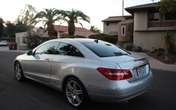 2010 MERCEDES E350C SPORT AMG COUPE